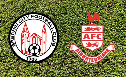 Brechin v Airdrieonians