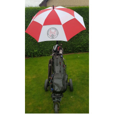 Brechin City Golf Umbrella (Red/White)
