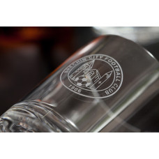 Brechin City FC Crystal Whisky Glass